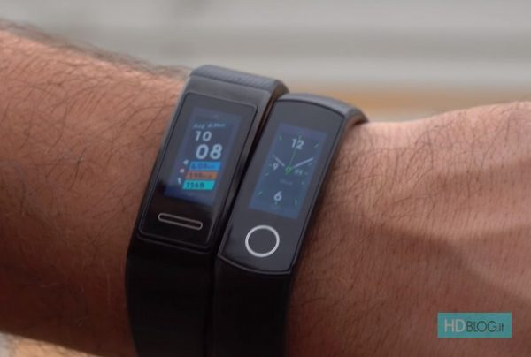 Recensione Honor Band 4 vs Huawei Band 3 Pro: diversamente uguali | Video