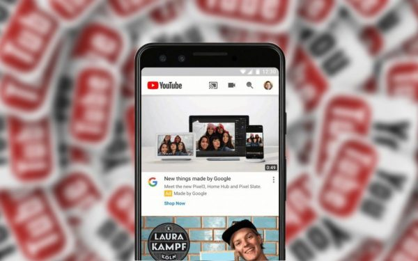 YouTube mobile: autoplay in Home per tutti