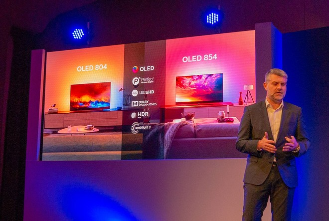 Philips TV OLED 854 e 804: Android TV Pie con Dolby Vision e HDR10+