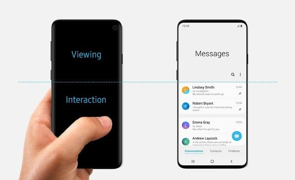 Samsung spiega le scelte di design dietro all'interfaccia One UI su Android Pie