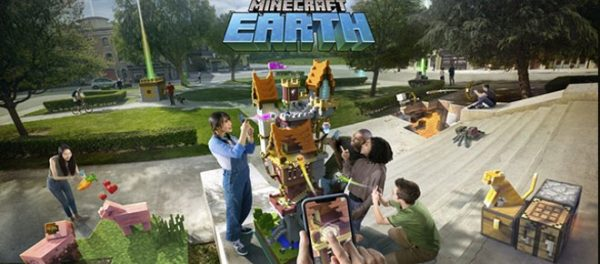 Minecraft Earth, annunciata la versione AR per iOS e Android | Registrazioni beta