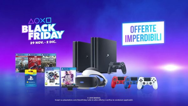 Black Friday su Euronics: ecco le promozioni su PlayStation 4 e accessori
