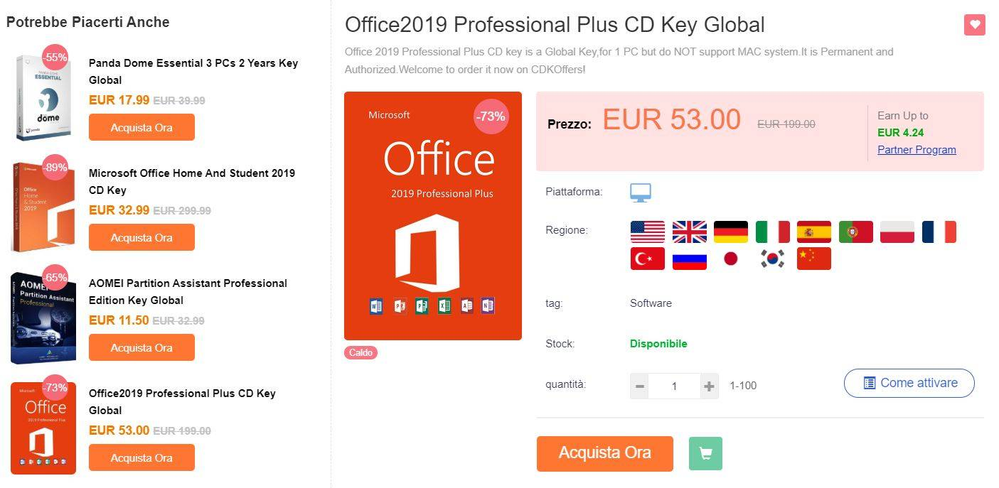 CKOffers offerta Office 2019